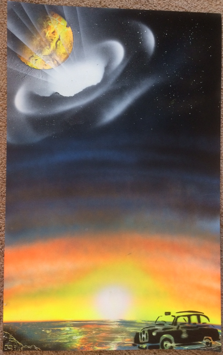 Spray Paintings For Sale Online Fantasy Spray Paint Art