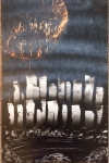 ITEM#: M034 - Blood Moon Of Gotham - Spray Paint Art for Sale