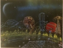 ITEM#: S012 - Carnival Theme Park 3 - Spray Paint Art for Sale