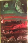 ITEM#: M004 - Smog City - Spray Paint Art for Sale