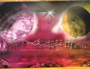 ITEM#: M019 - Twilight 1 - Spray Paint Art for Sale