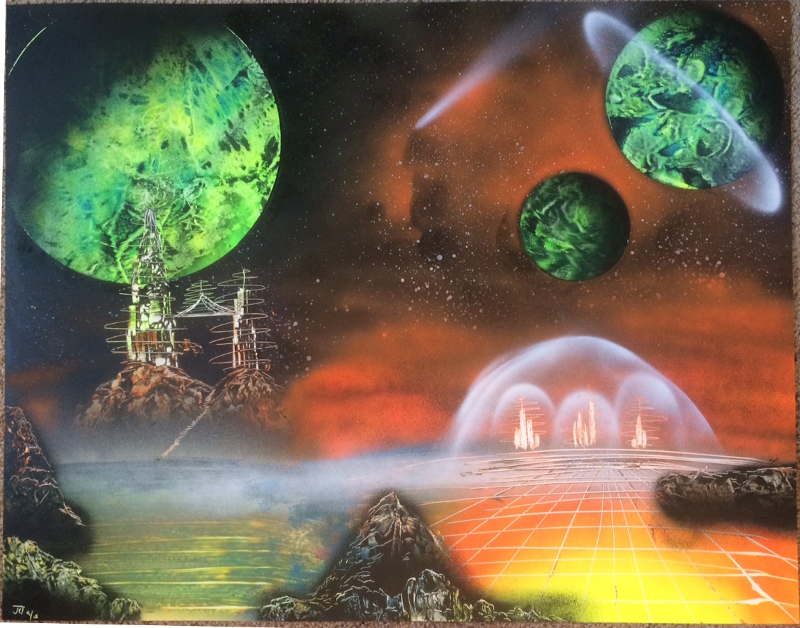 Fantasy Spray Paint Art Dreams Captured In Paint Buy Spray Paint Art Online