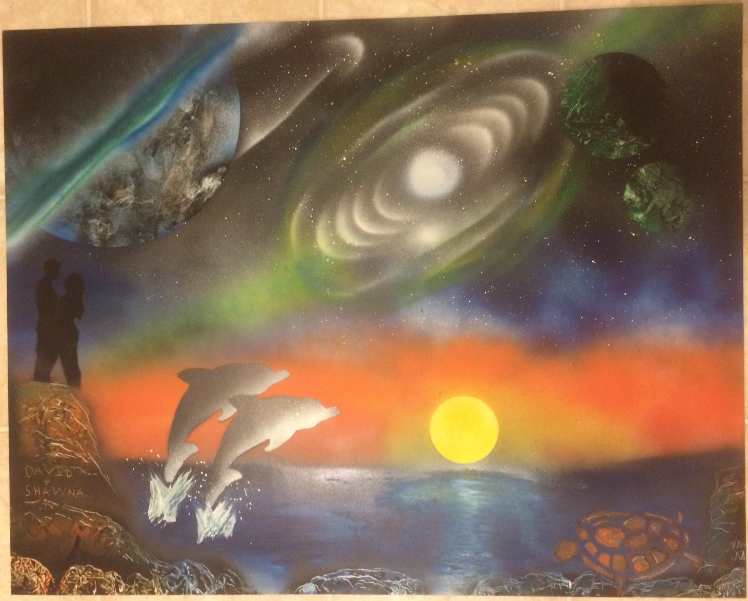 Fantasy Spray Paint